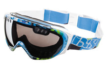 ixs Combat Flag Goggles blauw-groen